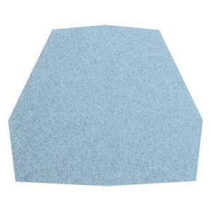 Blu Dot Real Good Seat Pad - Color: Heathered Light Blue - Size: Stool Pad - RG1-STLPAD-BL