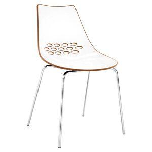 Connubia Jam 1059 Chair - Color: Orange - CB/1059_P77_P799-P851