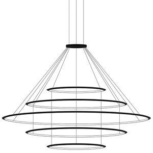 Bover Circular LED 5 Tier Chandelier - Color: Gold - Size: Large - CD4E-00V9AZRUEFU
