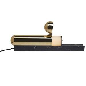 DCW Editions ISP LED Table Lamp - Color: Gold - ISP TABLE BR-BL-MA V