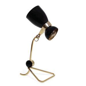 DelightFULL Amy Table Lamp - Color: Black - Size: 2 light - AMYTBL_BLKGL_GLDPL_GLDPP