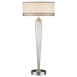 Fine Art Handcrafted Lighting Allegretto Table Lamp - Color: Silver - Size: 2 light - 792915ST