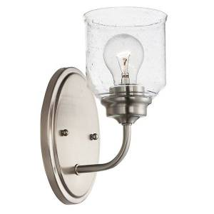 Maxim Lighting Acadia Wall Sconce - Color: Silver - Size: 1 light - 12261CDSN