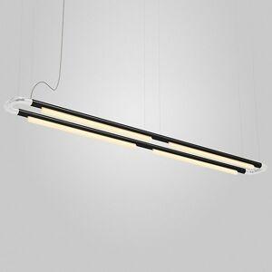 ANDlight Pipeline CM7 LED Linear Chandelier - Color: Copper - Size: 4 light - PIP-CM7-P-CP-BK-30-MLV-120