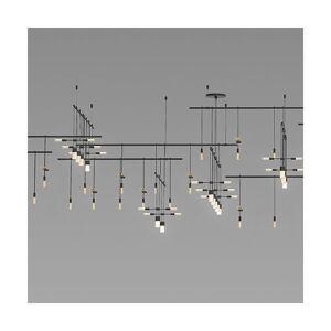 SONNEMAN Lighting Suspenders 4-Tier LED Gallery Matrix - Size: 78 light - SLS0002-SC02