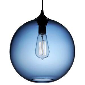 Niche Modern Solitaire Pendant Light - Color: Blue - GL-SOL-SAP-BU-G19-25W-120VCP-5-WH