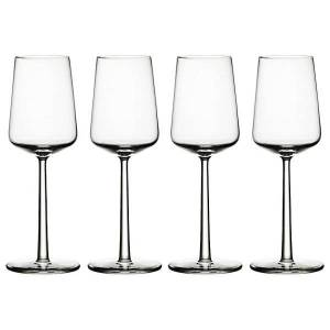 iittala Essence White Wine Set of 4 - Color: Clear - 1009140