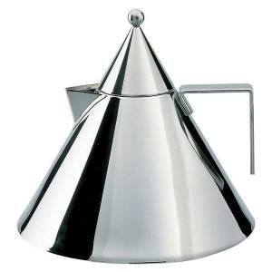Alessi Il Conico Water Kettle - Color: Stainless Steel - 90017