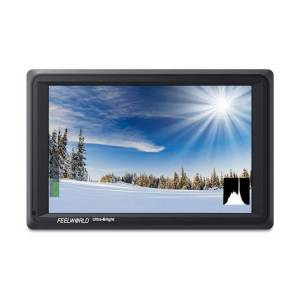 FeelWorld 7-Inch 4K Ultra-Bright Monitor with Loop-Through HDMI and 3G-SDI