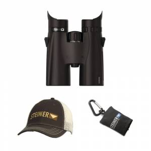 Steiner 8x42 HX Binoculars with Cap and Microfiber Lens Cloth Pouch