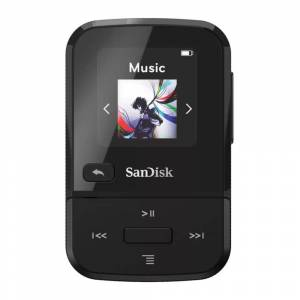 SanDisk 32GB Clip Sport Go Wearable MP3 Player (Black)