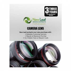 New Leaf Service Contracts New Leaf 3-Year Camera Lens Service Plan for Products Retailing Under $6,500