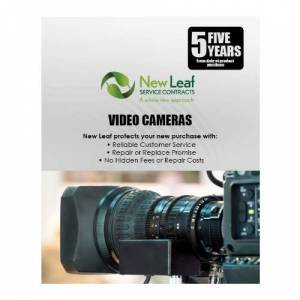 New Leaf Service Contracts New Leaf 5-Year Video Cameras Service Plan for Products Retailing under $7000