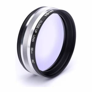 NiSi 58mm Close-Up Lens Kit with 49 and 52mm Step-Up Adapter Rings