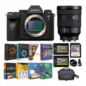Sony Alpha a9 II Mirrorless Full Frame Interchangeable-Lens Camera with FE 24-105mm Lens and Accessory Bundle