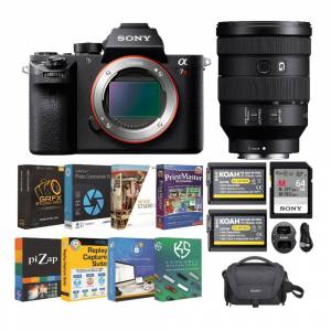 Sony Alpha a7R II Mirrorless Digital Camera with FE 24-105mm f/4 G OSS Full-Frame Lens and Accessory Bundle