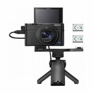 Sony RX100 VII Cyber-shot Digital Camera with Shooting Grip Kit