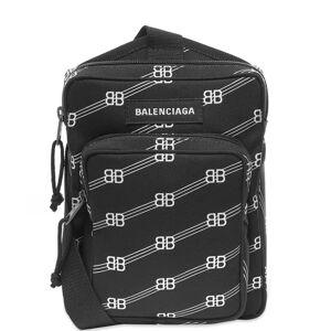 Balenciaga All Over Logo BB Shotter Bag