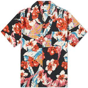 Saint Laurent Hawaii Shirt  Colorful Flowers Med