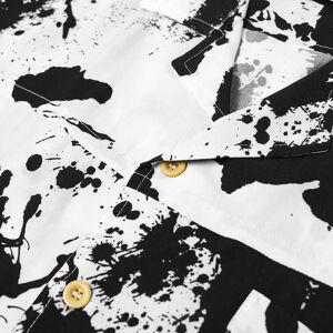 Rhude Rorschach Shirt  White & Black