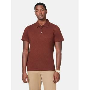 Theory Bron C Short Sleeve Polo Shirt - S - Also in: M, L, XL  - Red