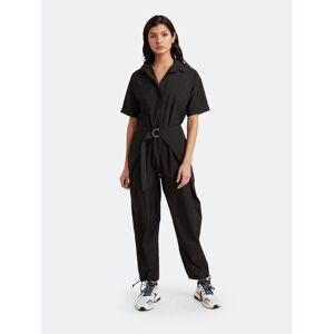 Choosy Zoe Wrap Waist Jumpsuit  - black