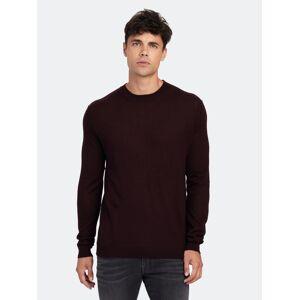 Zadig & Voltaire Liam Cp Cashmere Sweater - L  - red