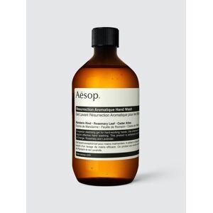 Aesop Resurrection Aromatique Hand Wash With Screw Cap  - Size: unisex