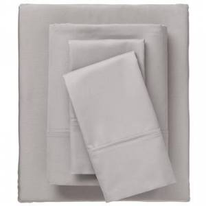 BrylaneHome Bed Tite 800 Thread Count Sheet Set, Size King in Silver by BrylaneHome