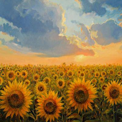 West Of The Wind Sun and Sun Outdoor Canvas Art by West Of The Wind in Multi