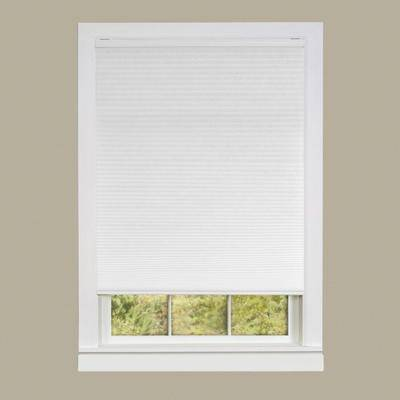 """Achim Home Dcor """"Wide Width Cordless Honeycomb Cellular Pleated Shade by Achim Home Dcor in White (Size 30"""""""" W 64"""""""" L)"""""""
