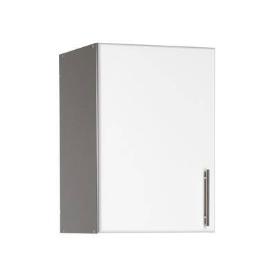"""BrylaneHome """"Elite 16"""""""" Stackable Wall Cabinet, White by BrylaneHome in White"""""""