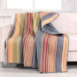 """Greenland Home Fashions """"Katy Quilted Throw Blanket, Size 50"""""""" x 60"""""""" by Greenland Home Fashions"""""""