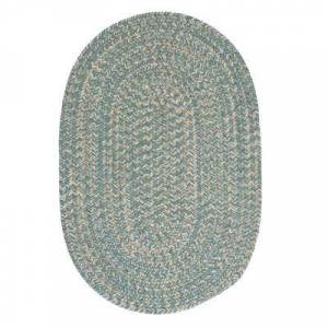 Colonial Mills Tremont Rug, Size 8'W x 11'L in Teal by Colonial Mills