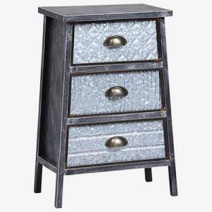 BrylaneHome Armata Collection 3 Drawer Chest by BrylaneHome in Multi
