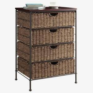 BrylaneHome Farmington 4 Drawer Chest by BrylaneHome in Saddle Brown