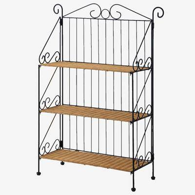 BrylaneHome 3-Tier Bookcase by BrylaneHome in Honey