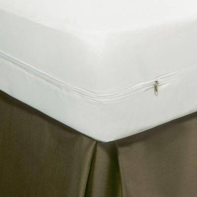 Levinsohn MattressGuard Allergy Relief Mattress Protector by Levinsohn in White (Size QUEEN)