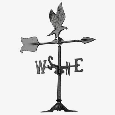 Whitehall Products Eagle Accent Weathervane by Whitehall Products in Black