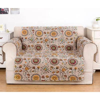 Greenland Home Fashions Andorra Protector by Greenland Home Fashions in Multi (Size LOVESEAT)