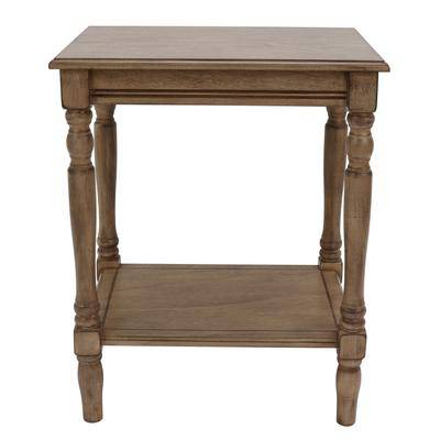 Decor Therapy Sahara End Table by Decor Therapy in Sahara
