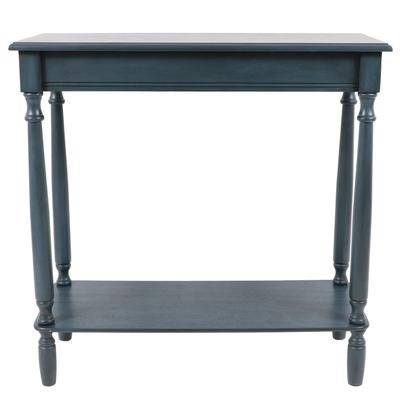 Decor Therapy Antique Navy Rectangle Console by Decor Therapy in Navy