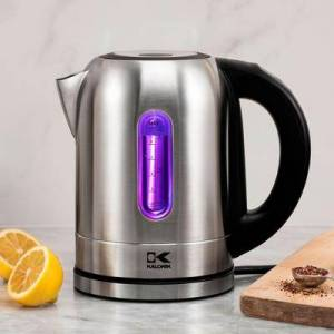 Kalorik Stainless Steel Digital Kettle (Stainless)