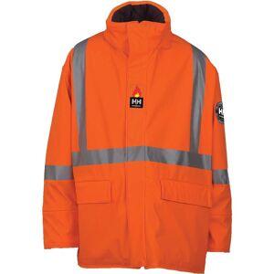 HH Workwear Helly Hansen Work Hopedale Flame Retardant Parka XXXXXL Orange