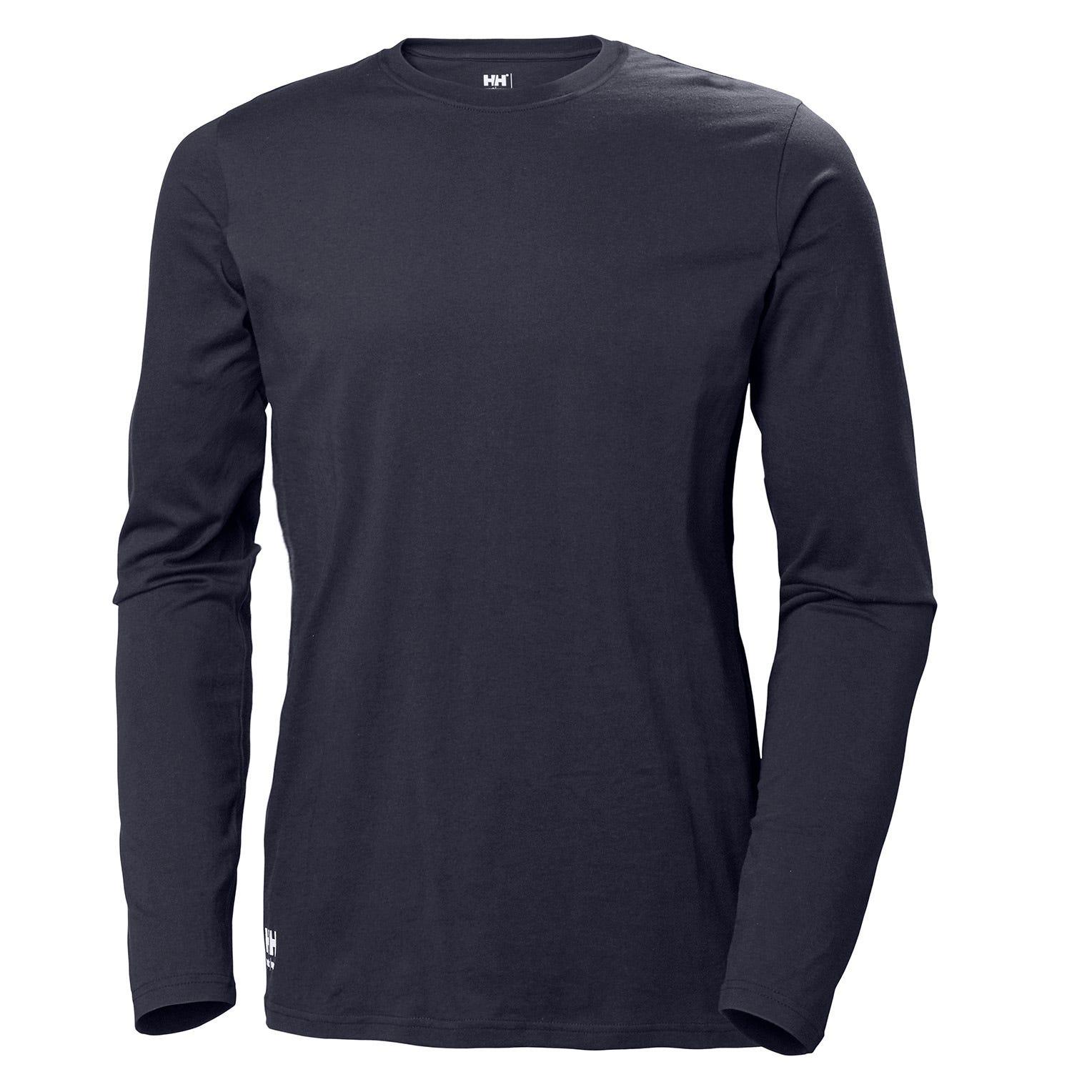 HH Workwear Helly Hansen WorkwearWomen's Manchester Cotton Longsleeve Shirt Navy S