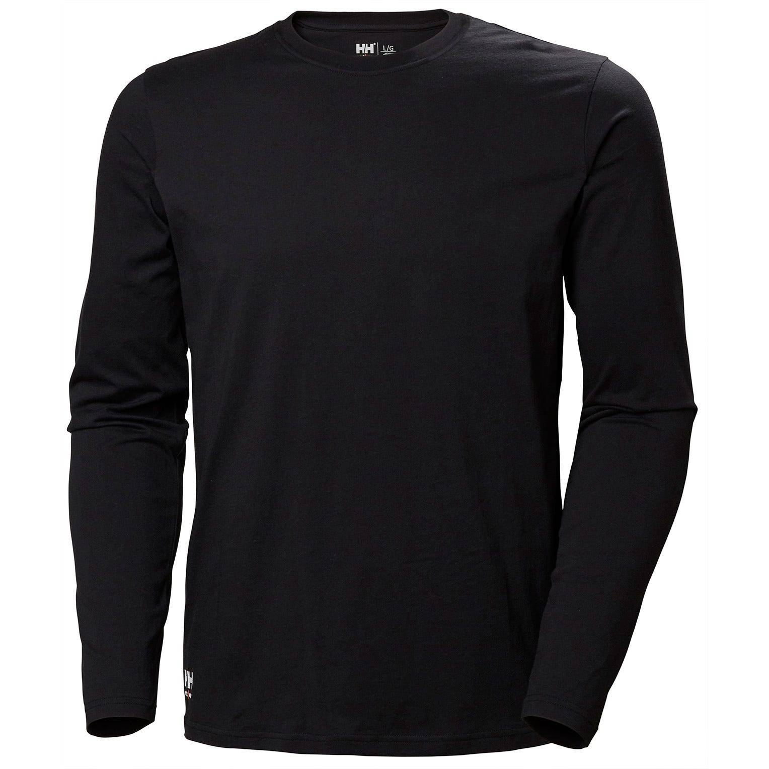 HH Workwear Helly Hansen WorkwearManchester Long Sleeve Black XL