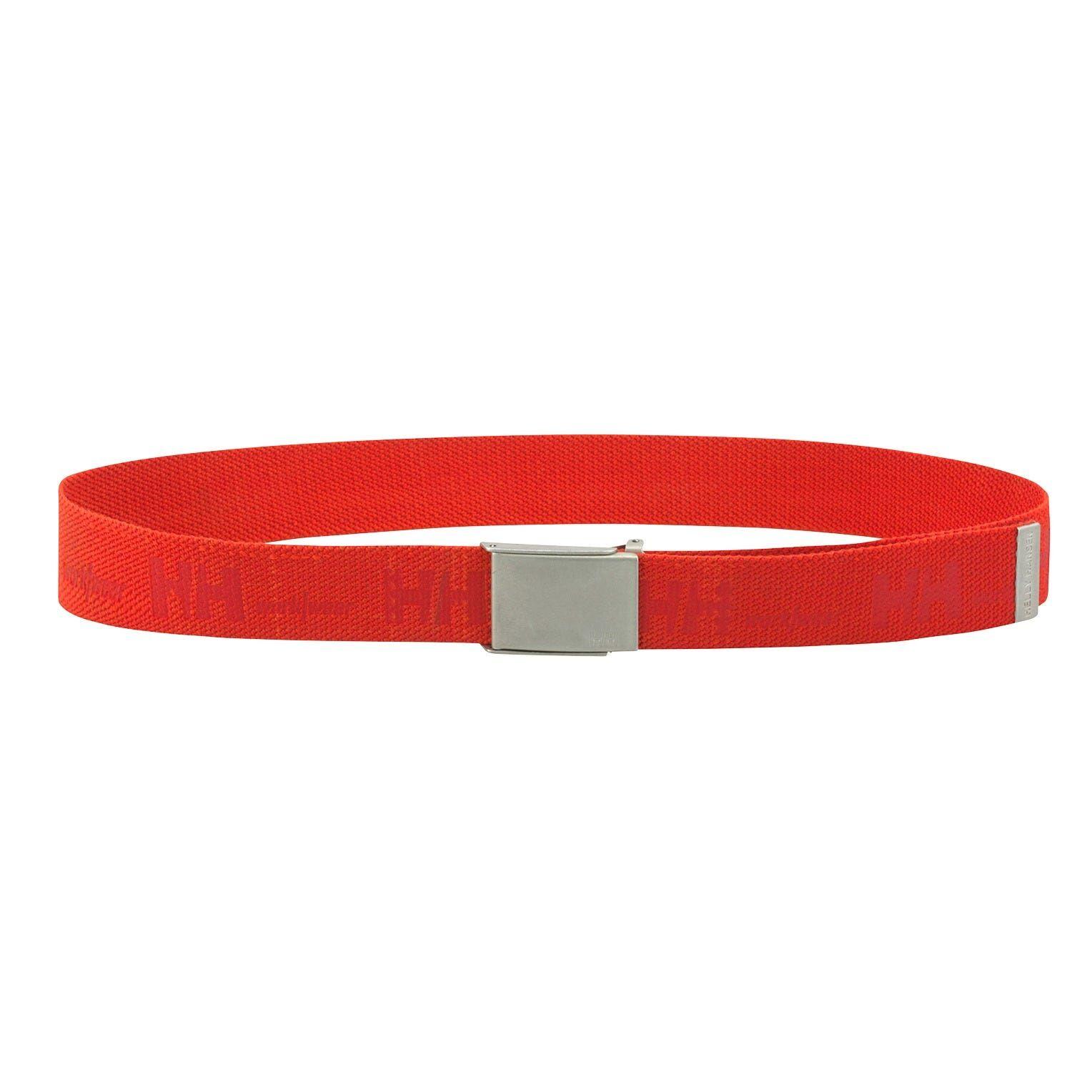 HH Workwear Helly Hansen WorkwearHH Logo Full Stretch Webbing Belt Orange STD
