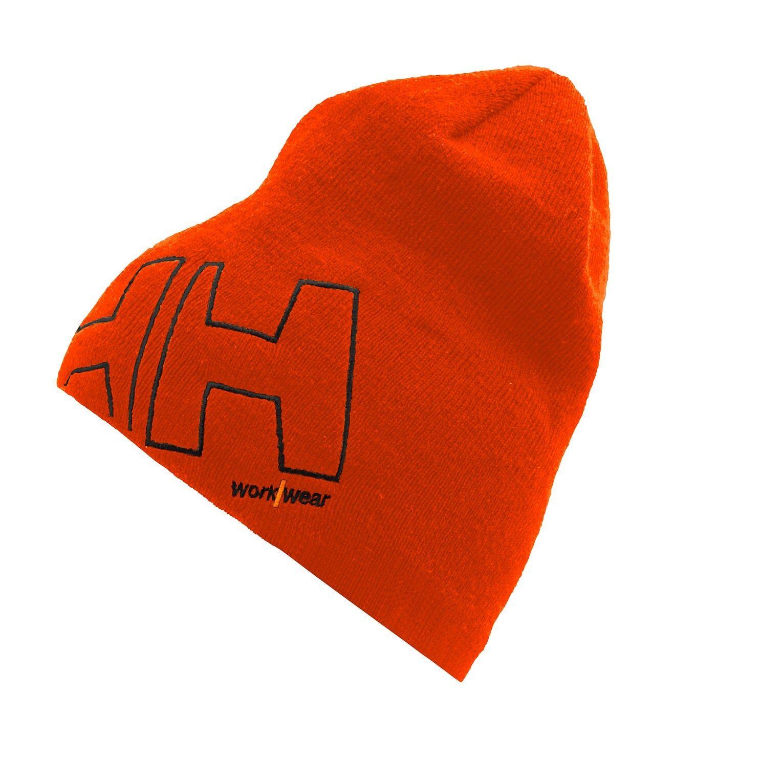 HH Workwear Helly Hansen WorkwearHH WW Warm Comfortable Beanie Orange STD