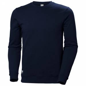 HH Workwear Helly Hansen Work Manchester Sweatershirt S Navy