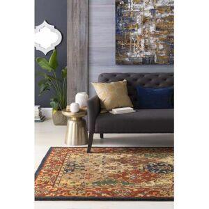 "Hauteloom ""Hughestown 13"""" x 19"""" Lumbar Pillow Cover Solid & Border 100% Cotton/100% Cotton Navy Pillow Cover - Hauteloom"""